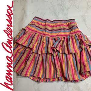 Hanna Andersson Striped Skirt